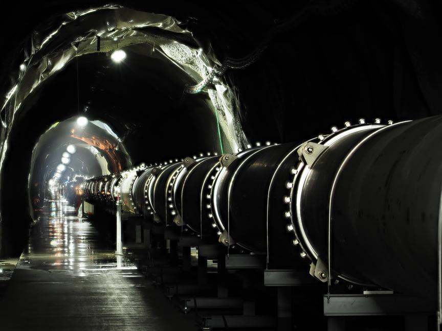 KAGRA tunnel